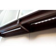 Dc12v 6w Professional Led Cabinet Light Bar With Pir Sensor For Wardrobes / Desk