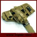 Componente militar tático Molle gota perna pistola coldre coldre de Combo