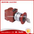 40mm bouton clé arrêt d'urgence sonnette mini bouton poussoir étanche interrupteur à membrane