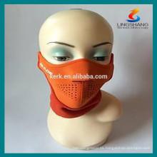 Casco de seguridad Máscaras protectoras de deporte máscara de neopreno de medio rostro
