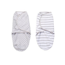 muslin baby swaddle adjustable breathable baby wrap