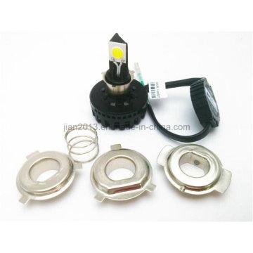 18W 2100lumens H4 6-36V LED Motorcycle Headlamp