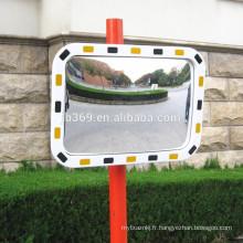 Miroir en verre convexe de circulation routière extérieure résistante