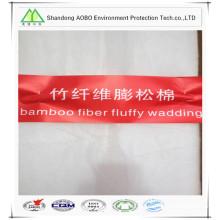 feutre de fibre de bambou naturel