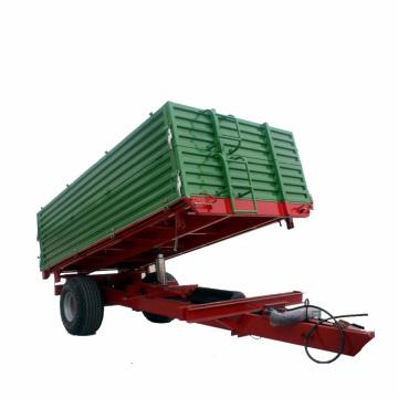 Mini-reboque de trator agrícola galvanizado para passeio