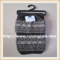 Boy's Jacquard winter knitted scarf hat set