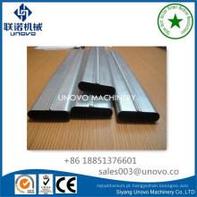 tubo oval de bloqueio de costura de laminação a frio