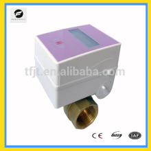 CWX-series 3.6V battery Warm electric motor operated valve with IC Card .