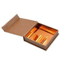 Wholesale Retail Packaging Logo Printed Gold Magnetic Gift Boxes