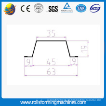 leichte Stahl Furring Kanal Rahmen roll Umformmaschine