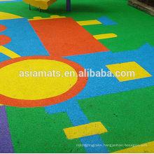 Cheap outdoor rubber flooring , epdm rubber granule