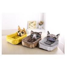 Мультяшный питомник-теплый матрас для кошачьих туалетов