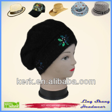 LSA60, 2014 New Promotion Poular black color hot sale winter hat
