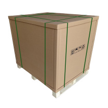 Heavy duty water proof strong cardboard pallet honeycomb shipping box
