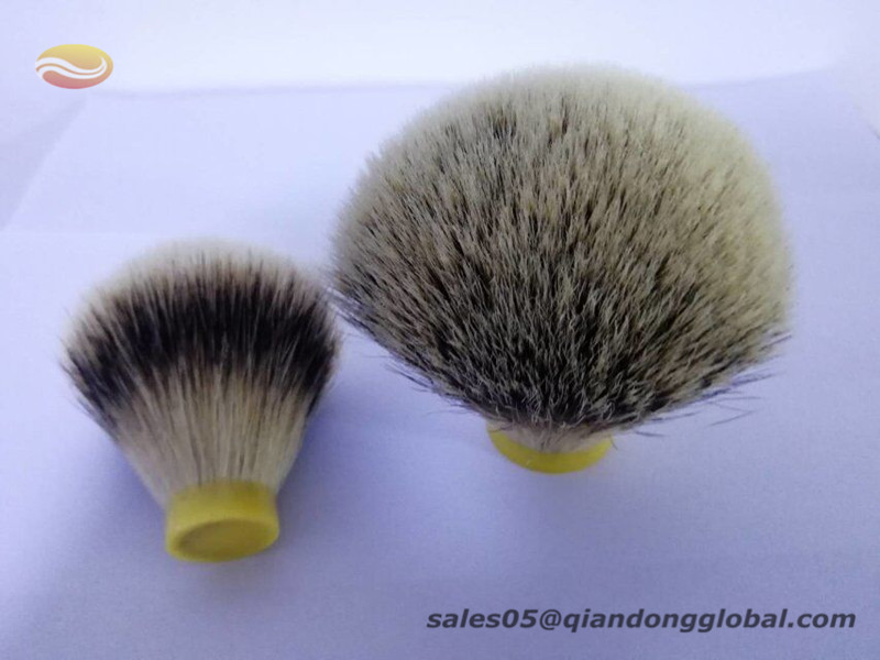Badger Shaving Brush Knot with Natural Tips