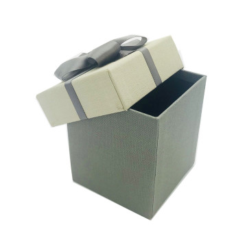 Small size gray paper gift box