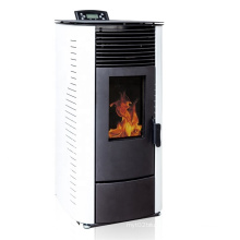 High efficiency Wood biomass pellet stove, estufa de pellets