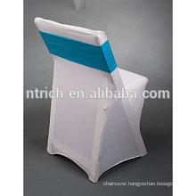 Cheap wedding decorative folding chair cover
