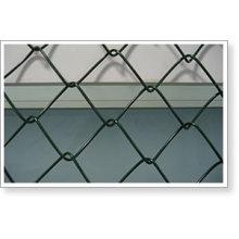 Clôture de liaison en chaîne revêtue de PVC