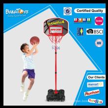 Super crianças brinquedo basquete plástico basquete basquete