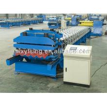 YTSING-YD-0459 pasó el CE y la autenticación de ISO Rollo de azulejo esmaltado que forma la maquinaria