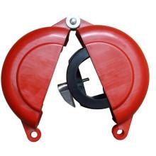 Certification CE durable et solide anti-dur réutilisable en nylon et verrouillage de la vanne de rotation en acier inoxydable 304