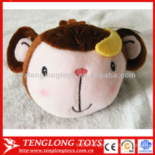 2015 New design lovely monkey plush toy cellphone holder