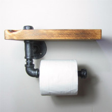 Bathroom Towel Rail and Toilet Roll Holder Set
