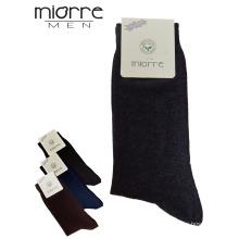 Miorre OEM Wholesale Lcyra Cotton Respirável Men Socks