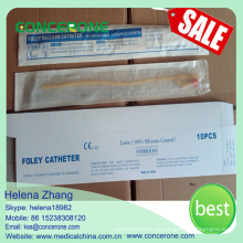 Embalaje de papel y plástico Foley Catheter Insertion 2 Way
