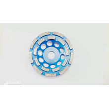 hottest selling double row  safe 100-400mm resin bond diamond cup wheel