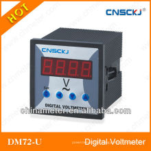 Voltímetro digital monofásico DM72-U (DC)
