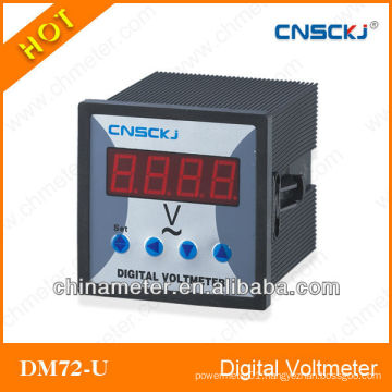 DM72-U Single Phase Digital Voltmeter