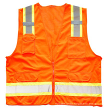 Warning Reflective Safety Vest with Pockets