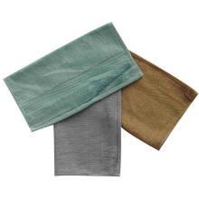 Serviette pour les mains / le visage en bambou souple et antibiose (BT-03)