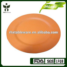 bamboo fiber colored plate sets
