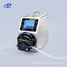 Peristaltic Pump Application for Vegetable Wax Transmission