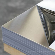 Paquet en tant que demande de client Feuille en acier inoxydable