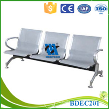 BDEC201Hihg quality hospital clinic 3-seater waiting chair for sale