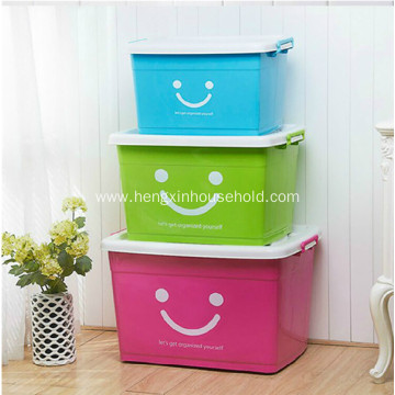 Plastic Stacking Density Storage Boxes With Lid