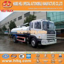 JAC 4x2 10000L dung suction truck 160hp Yuchai engine