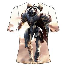 Impactante, gimnasio, sublimada, camisa, erupción, guardia