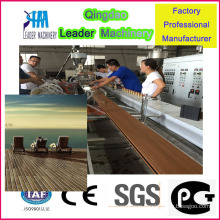 WPC+PE out-Door Floor Extrusion Machine