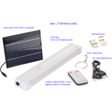 Système de kits de lumière d'éclairage à énergie solaire LED