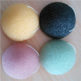 Original Pure 100% Natural Cleansing Green Tea and Bamboo Charcol Konjac Sponge