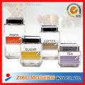 Food Coffee Sugar Tea Glass Canisters Glass Storage Jar
