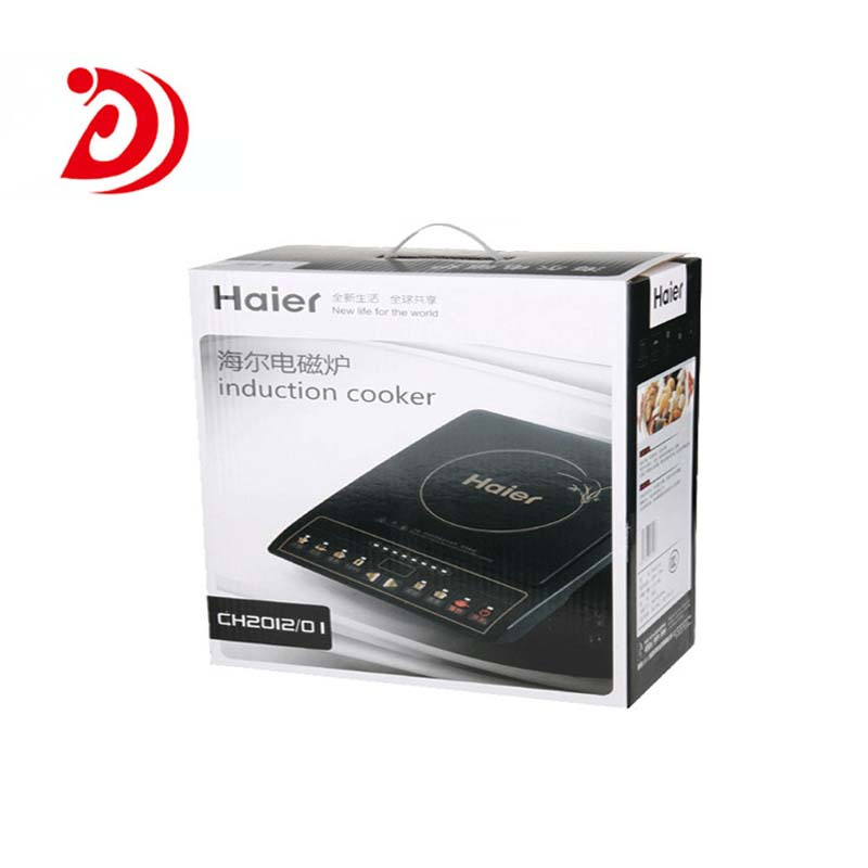 Induction Cooker cardboard box with handle