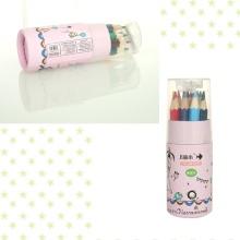 Standardowy Drewniany kolorowy ołówek z temperówką