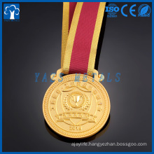 custom metal gold medals for school