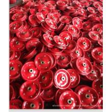 Llanta de acero de color rojo de alta calidad